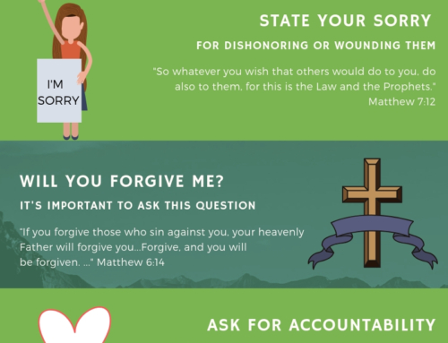 The Six Step Apology